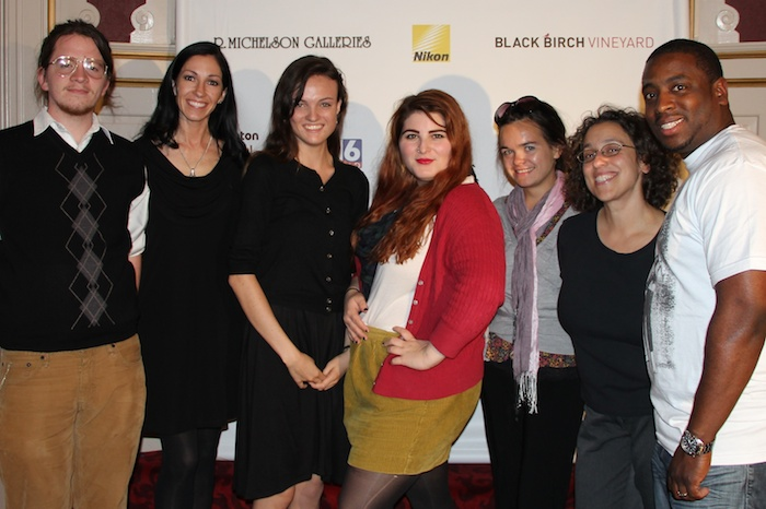 Volunteers at the 16th Annual Northampton International Film Festival 2012